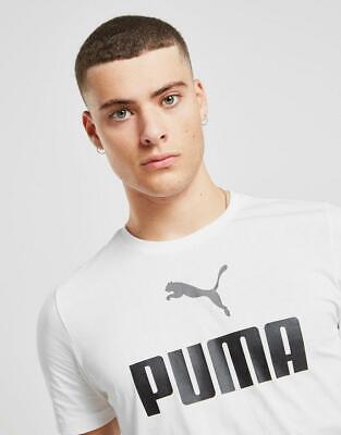 New Puma Men's No1 Central Logo T-Shirt