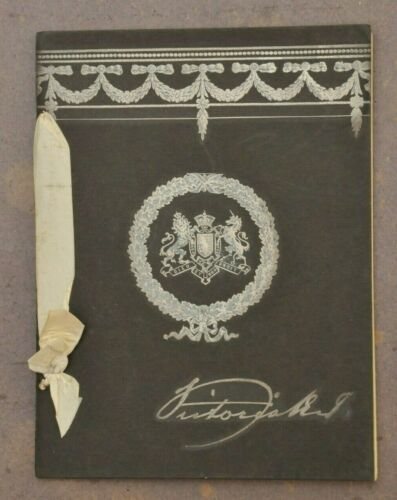 RARE 1901 QUEEN VICTORIA IN MEMORIAM DEATH BOOKLET
