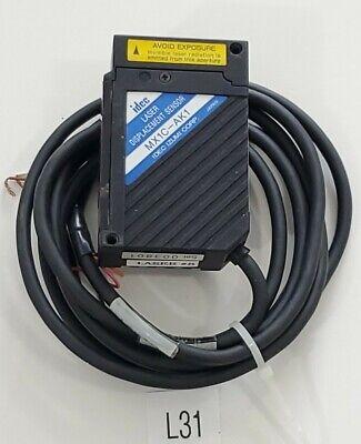 Preowned Idec Mx1c-ak1 Laser Displacement Sensor 003801 Warranty