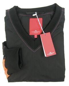New-J-LINDEBERG-JL-Black-Windbreaker-Pullover-Shirt-Jacket-XXL-XL-NWT-275