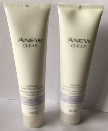 Avon Anew Clean Comforting Cream Cleanser & Mask for Normal/