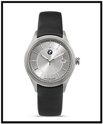 Original BMW Herren Armbanduhr schwarz Edelstahlgehäuse Uhr 80262406685 NEU .