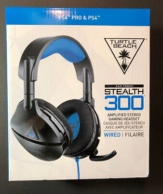 Turtle Beach Ear Force Stealth 300 Negro con Cable Auriculares Para PS4...