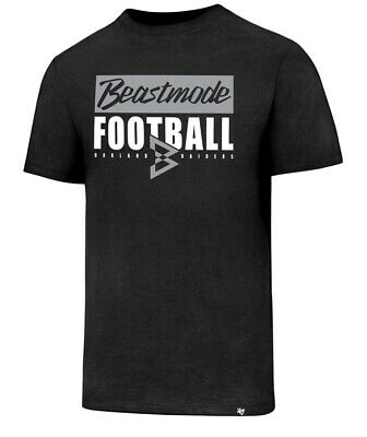 Raiders 47 Brand MVP Beastmode Club Tee $36 Football Oakland (8B) ()