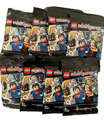 LEGO Minifigures DC Comics Universe Blind Bag Lot of 8