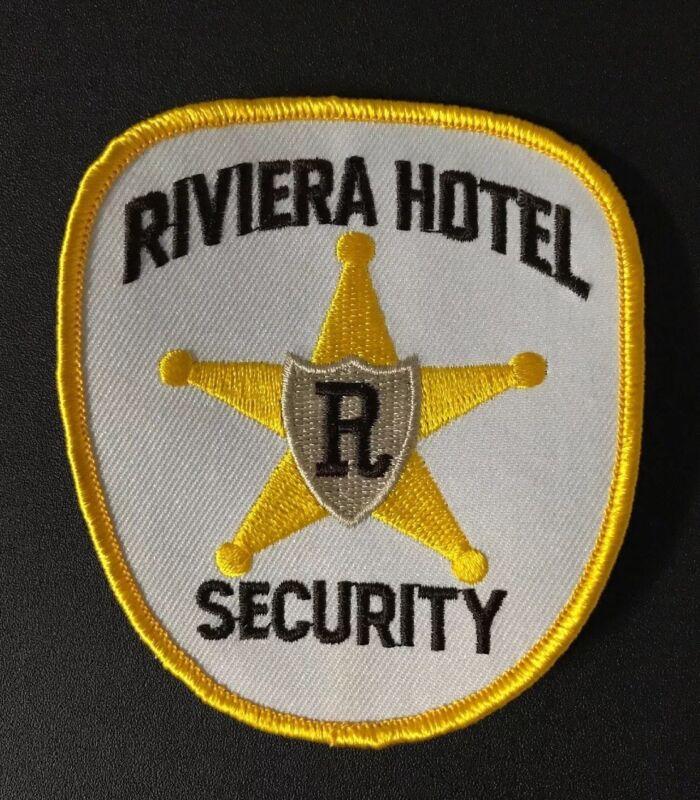 RIVIERA HOTEL CASINO LAS VEGAS NEW UNUSED VINTAGE SECURITY GUARD PATCH