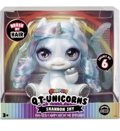 Poopsie Q.T. Unicorns BLUE SHANNON SHY Hot Toy 2020 New In Box Surprise Scent - $12.99