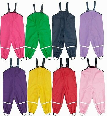 Playshoes Toddler & Children's Waldorf Waterproof Rain Pants - No Lining