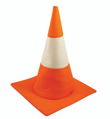 Traffic Cone Hat - Accessory Novelty Unisex Orange Road Fancy Dress Costume - Cone Hats