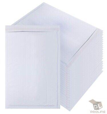 100 000 White Kraft Bubble Padded Envelope Self-sealing Mailers 4x8 Inner 4x7