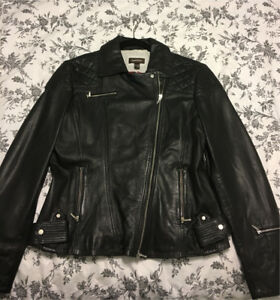 Women's Leather Jacket (never worn) $150.00