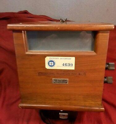 antique galvanometer rubicon co philadelphia