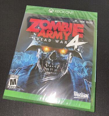 Zombie Army 4: Dead War (Xbox One, XB1) New & Sealed
