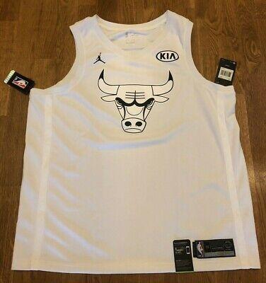 NBA Jumpman Michael Jordan Bulls Kia All Star Game Authentic Jersey Size 2XL