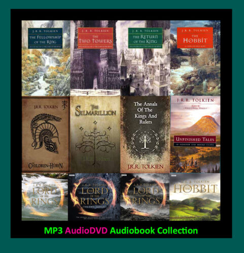 The LORD OF THE RINGS Series By JRR Tolkien (12 MP3 Audiobook Collection)