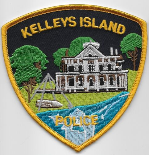 Kelleys Island Police State Ohio OH Colorful