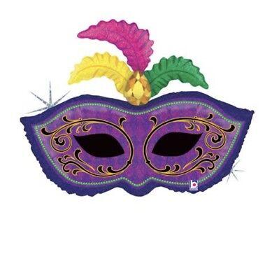 Masquerade Balloon Decorations (Mardi Gras Mask 34