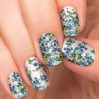 """RARE! Color Street/Incoco """"Painted Blossoms"""" Nail Strips spring floral"""