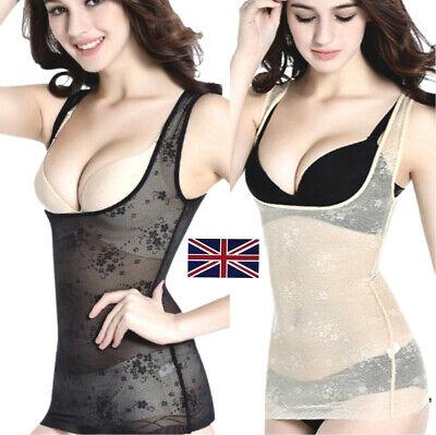 Ladies Best Slimming Underwear Girdle Tummy Belly Tucker Trimmer Vest for Women (Best Girdle For Stomach)