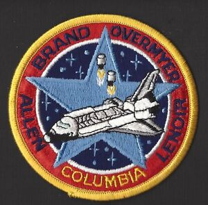 space shuttle columbia mission patch - photo #26