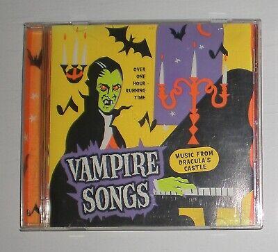 Vampire Songs Music From Dracula's Castle - Halloween Music Audio cd