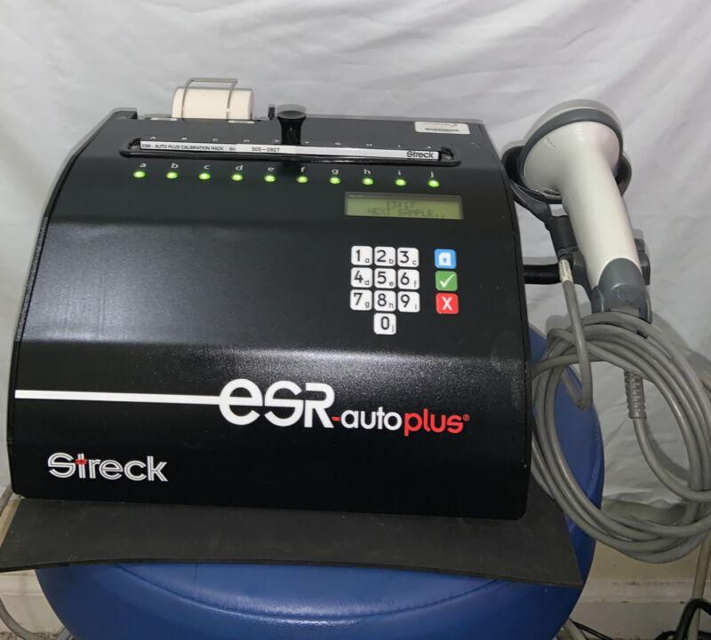 Streck ESR-Auto Plus Sedimentation Rate Analyzer with Barcode Scanner 505