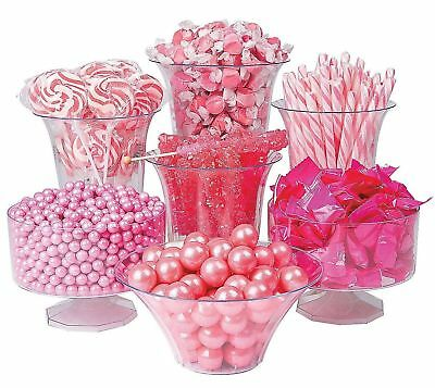 Candy Buffet Pink Gum balls Taffy Lollipops Hard Candy 11 lbs