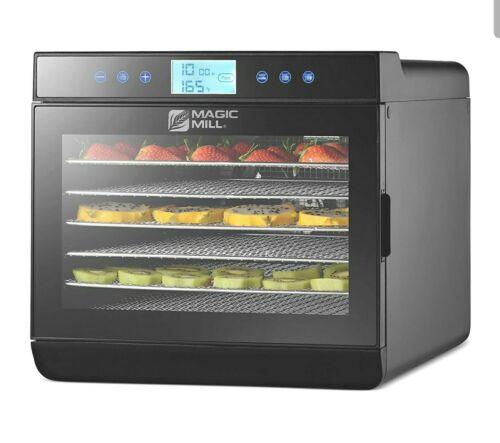 magic mill food dehydrator machine easy setup