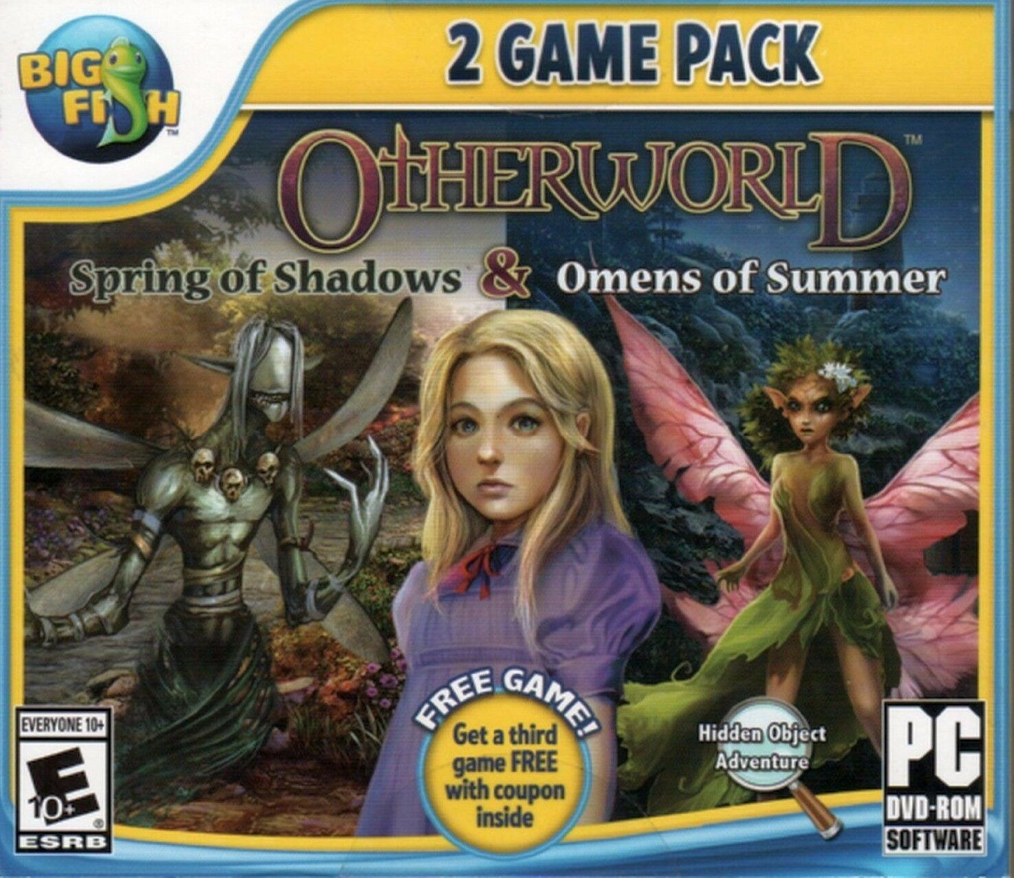 Computer Games - Otherworld Spring Of Shadows & Omens Of Summer PC Game Window 10 8 7 XP Computer