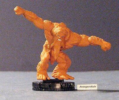 Heroclix Justice League Trinity War set Shaggy Man #047 Rare figure w//card!