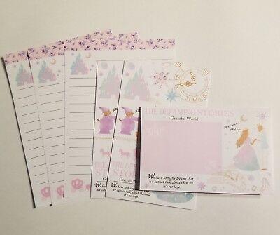 Letter Writing Set - Dreaming Stories Mini Letter Set Writing Paper Envelope Kawaii Stationery
