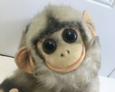 - VINTAGE TOY YES/NO NODDING MONKEY JAPAN 1950'S-60'S MOVING HEAD & TAIL 10
