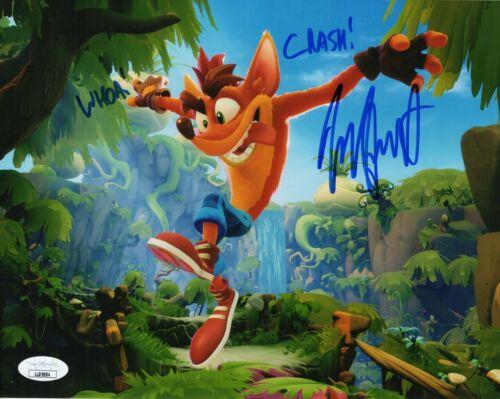 Jess Harnell Autograph Signed 8x10 Photo - Crash Bandicoot (JSA COA)