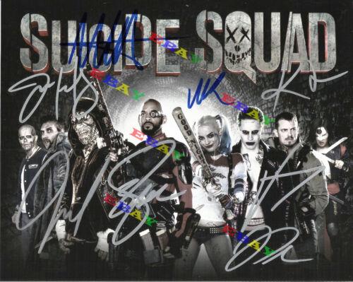 Suicide Squad Cast Autographed Signed Photo Reprint