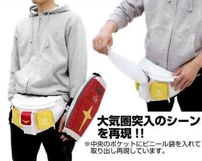 Mobile Suit Gundam Waist Bag & RX-78-2 Shield Bag Red Set Anime COOL Fashion New