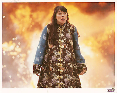Xena 8X10 litho lithograph photo photograph Season Five 5 Xena in Chinese outfit (Xena Outfit)