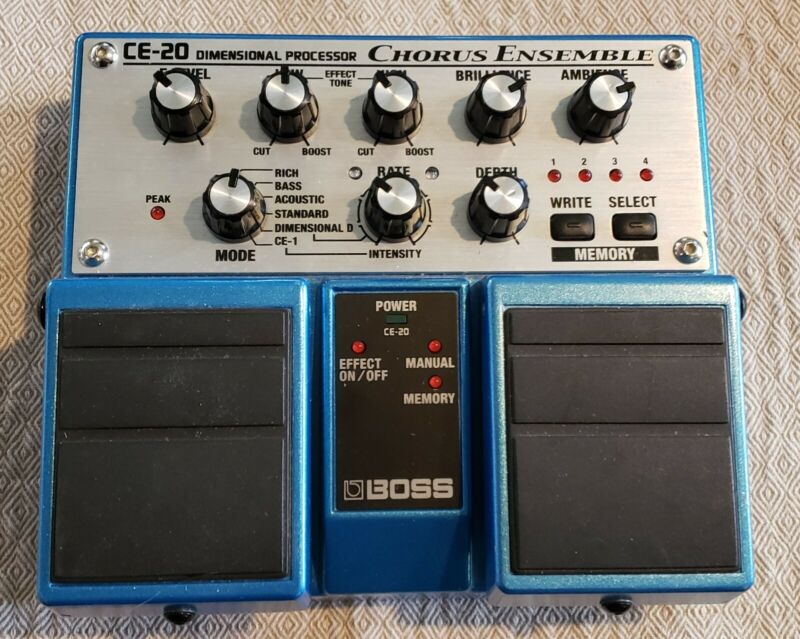 Boss CE-20 Chorus Guitar Effect Pedal in excellent condition - US seller!