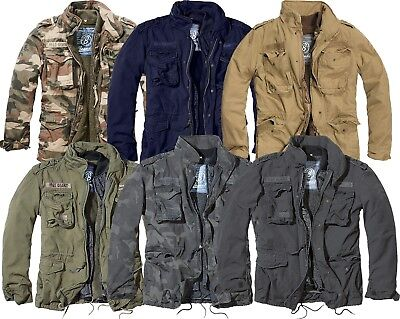 (Brandit M65 Winter Jacket Parka Giant Bw 2 in 1 with Lining up to Size 5XL 3101)