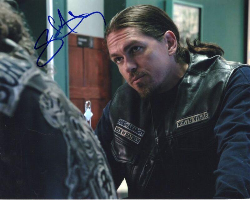 Steve Howey Sons of Anarchy Hopper Signed 8x10 Photo w/COA