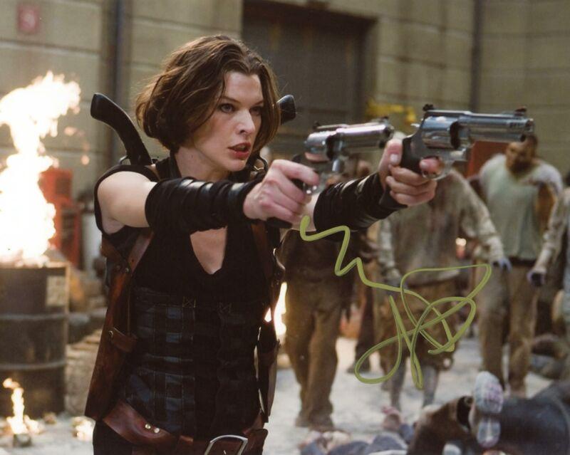 "Milla Jovovich ""Resident Evil"" AUTOGRAPH Signed 8x10 Photo ACOA"