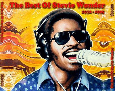 Stevie Wonder - The Best Of 1972-1995 4-CD Greatest Hits - Isn't She Lovely (Stevie Wonder Best Hits)
