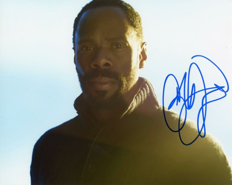 "Colman Domingo ""Fear the Walking Dead"" AUTOGRAPH Signed 8x10 Photo B ACOA"
