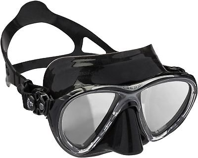 Cressi Unisex - Erwachsene Taucherbrille Big Eyes Evolution schwarz/HD verspi...