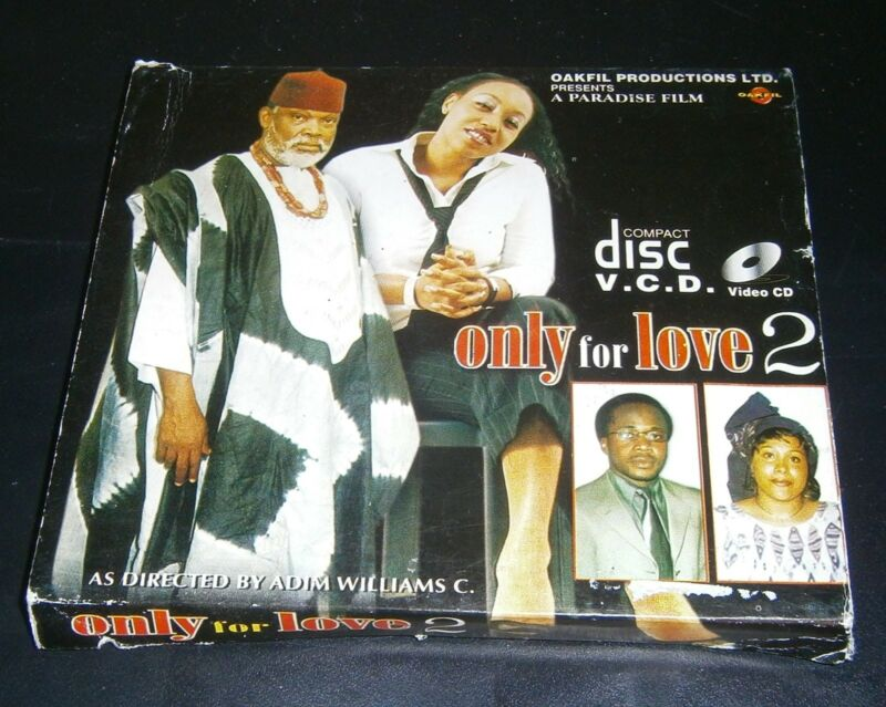 Oakfil Producions ONLY FOR LOVE 2 from Paradise Film Sierra Leone VCD