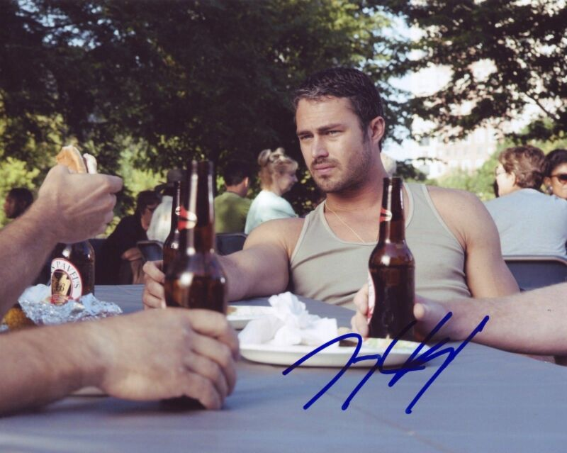 Taylor Kinney Chicago Fire Autographed Signed 8x10 Photo COA #1