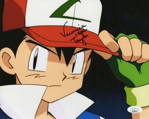 "Veronica Taylor Autograph Signed 8x10 Photo - Pokemon ""Ash"" (JSA COA)"