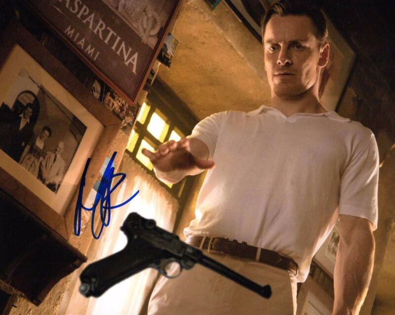 GFA X-Men: First Class * MICHAEL FASSBENDER * Signed Autograph 8x10 Photo AD COA