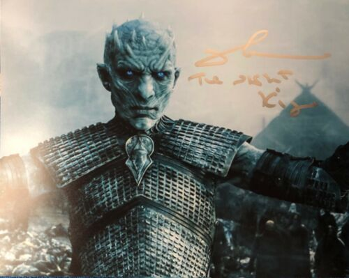 "Game of Thrones RICHARD BRAKE ""The Night King"" SIGNED 8x10 Photo"