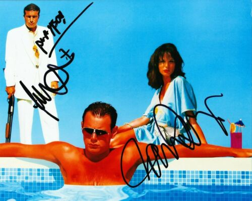Danny Dyer & Tamer Hassan SIGNED 10X8 PHOTO The Business AFTAL COA (7344)