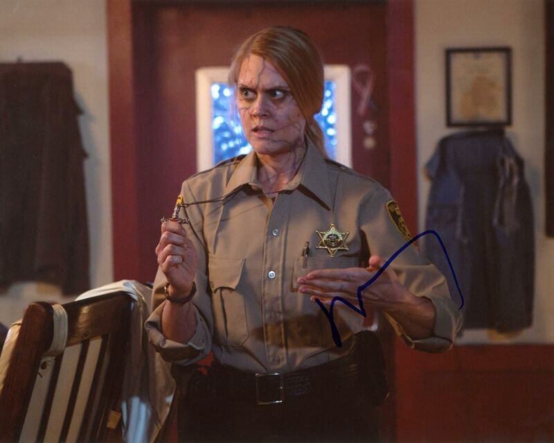 "Janet Varney ""Stan Against Evil"" AUTOGRAPH Signed 8x10 Photo"